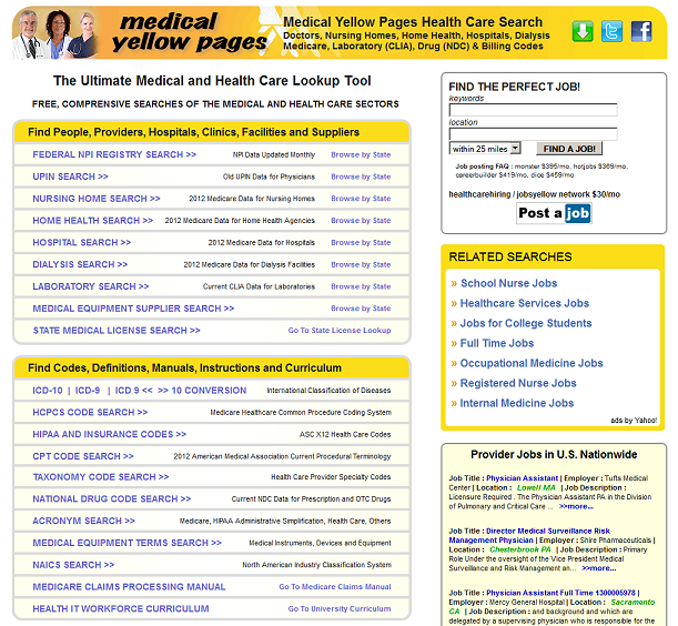 MedYellow Medical Yellow Pages